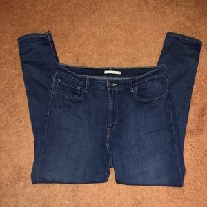 Levi's 721 High Rise Skinny Jeans size 34-Like new